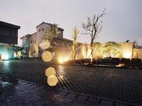 湖水岸人文休閒旅館-庭園