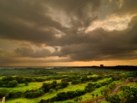 雲登景觀飯店-會館外美景