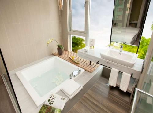 穀雨標準雙人房衛浴