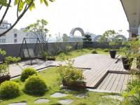 冠閣大飯店-庭院