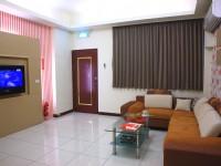 阿里山月灣Villa-寬敞明亮的客廳
