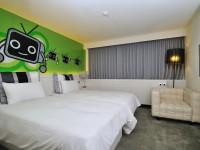 華園飯店-都會風尚房-和平綠