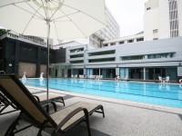華園飯店-游泳池