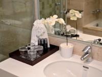 華園飯店-豪華尊龍家庭房 浴室