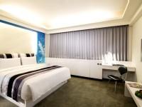 華園飯店-都會風尚房-自由藍