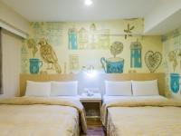 Kaohsiung Sanduo Hotel-Quad Room