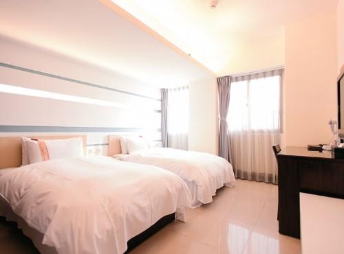 標準雙人房二小床