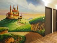 高雄都會商旅MHOTEL-裝飾壁畫