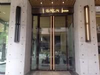 巨蛋旅店-餐廳門口