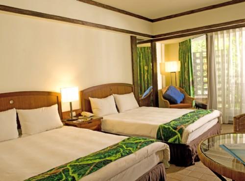 景緻客房兩大床