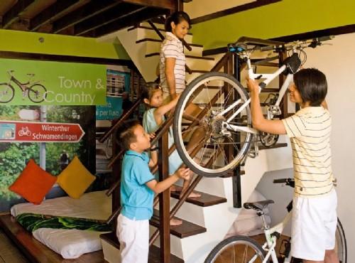單車旅館騎士家庭房