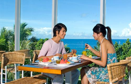 臨海餐廳早餐