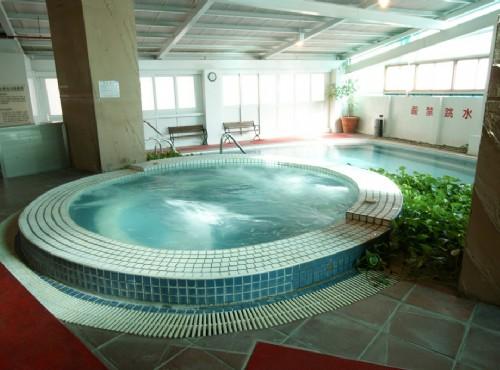 芳香藥浴池
