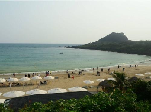 寧靜優閒小灣沙灘