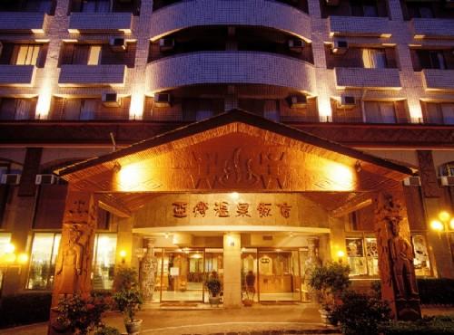 飯店外觀夜景