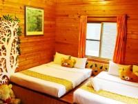 小熊渡假村-木屋內空間