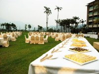 鹿鳴溫泉酒店-露天宴會