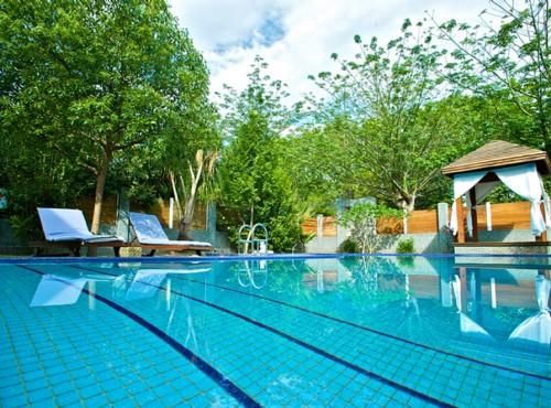 公爵別墅泳池
