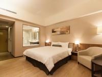 F HOTEL知本館-精緻二人房-木地板